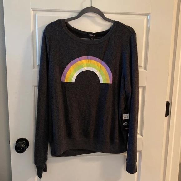 Wildfox Rainbow Sweater - Size XL